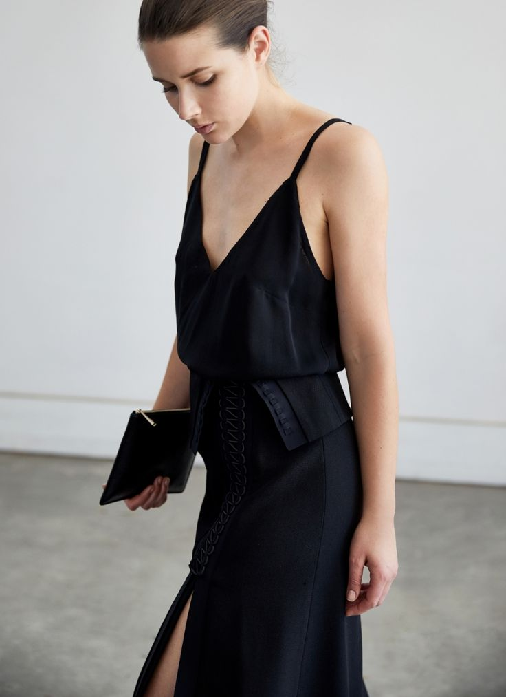 MINIMAL + CLASSIC @nordhaven: Dion Lee Black Coil Skirt | Style | Black | Outfit | HarperandHarley