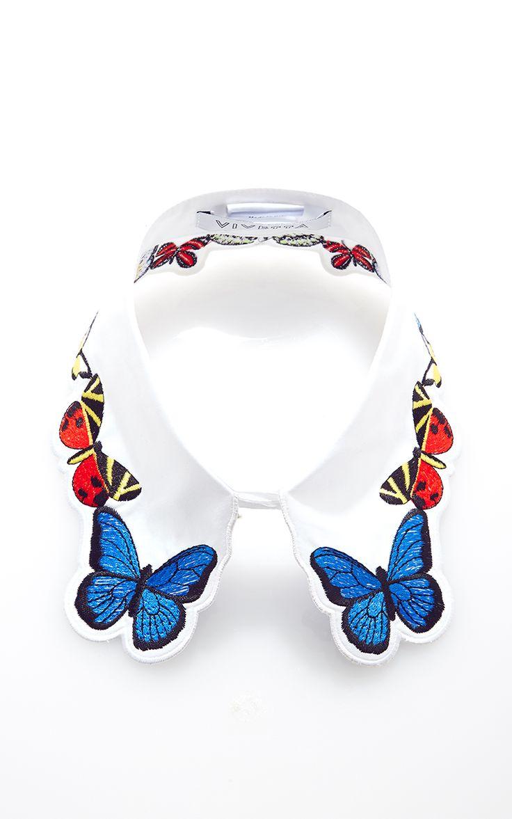 Fauna Embroidered Collar by Vivetta - Moda Operandi <3