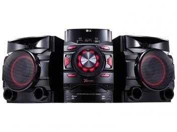 Mini System LG Bluetooth USB MP3 CD Player - Rádio AM/FM 440W CM4460
