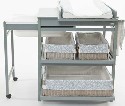 trs pratique en un seul meuble la table langer la baignoire et des - Table A Langer Pratique