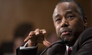 "Ben Carson hails homelessness agency that Trump budget would eliminate | US news | The Guardian.  A good boss would stand behind his employees not upend and contradict them at any point his ""command"" was not ""obeyed"". No wonder people are resigning in disgust and few want the jobs going begging."