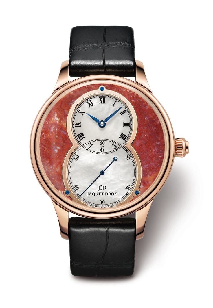 Jaquet Droz - Grande Seconde Mineral: Jaquet Droz, Grand Second, Droz Grand, Minerals 56, Second Minerals, Grande Seconde, Second Red, Awesome Watches, Fine Watches