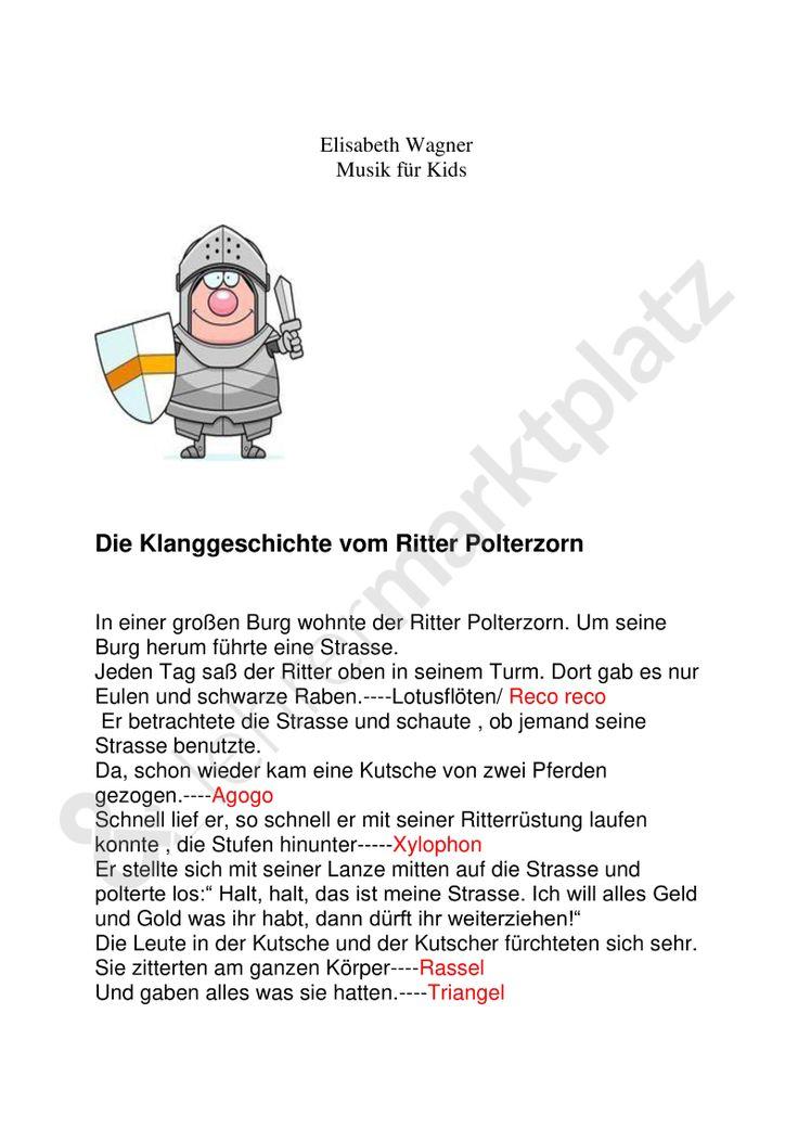 Geschichten mit Musik: Der Ritter Polterzorn! plus passendem Lied