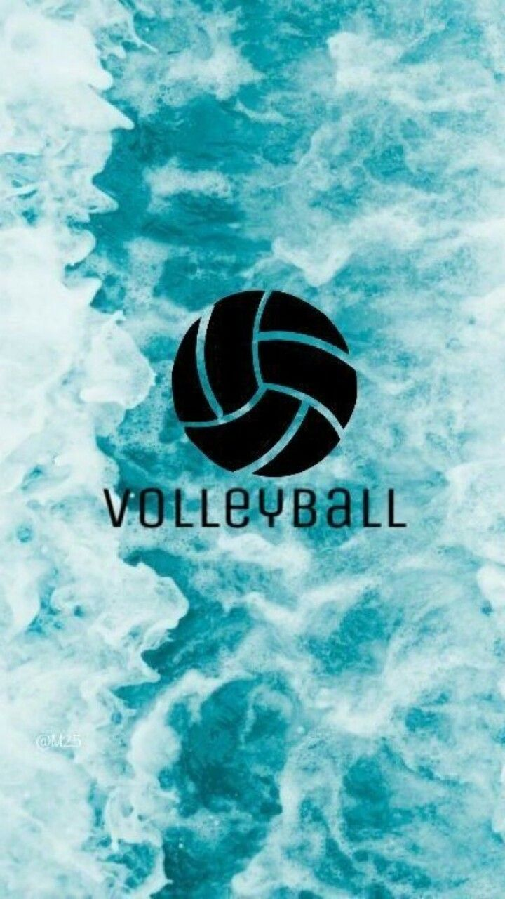 Pin By Anastasia On Volleyball Volleyball Wallpaper Volleyball Backgrounds Volleyball Drawing