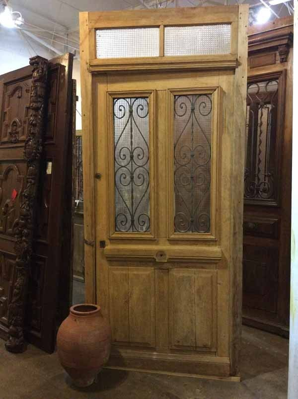 13 best antique doors images on pinterest antique doors for Oak french doors external