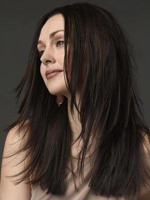 Perruque cheveux naturels lisse glamoureuse lace front - Photo 1