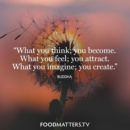 After some more inspiration? http://foodmatters.tv/content/what-you-think-you-become
