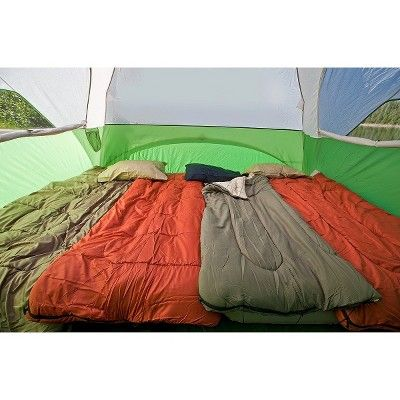 Coleman Evanston 6 Person Screened Tent, Green