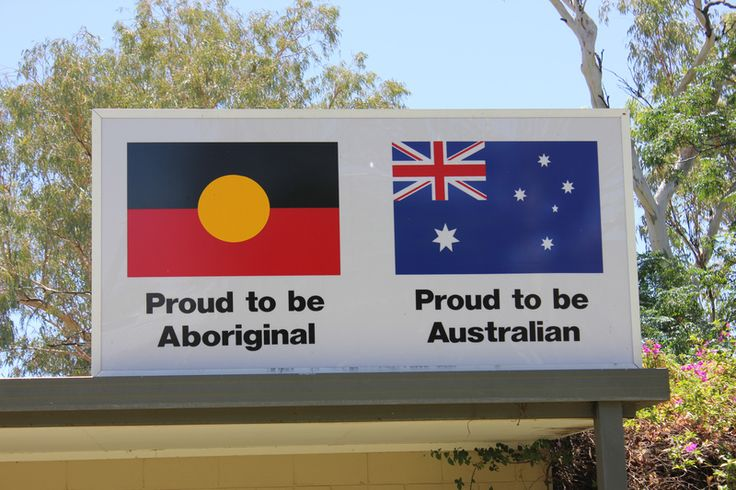 he Australian Aboriginal flag beside the country's national flag. / Why Does the Australian Flag Still Have a Union Jack? | Atlas Obscura