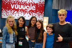 "had the opportunity to sit down with the young, bright, hilarious and social media-savvy cast of Disney Channel's latest new show, ""Bizaardvark,"" starring Madison Hu, Olivia Rodrigo, DeVore Ledridge, Ethan Wacker and Jake Paul.  We chatted about everything from crazy dares to funny faces to real life Vuuuglers to dealing with haters to tips for Viners."
