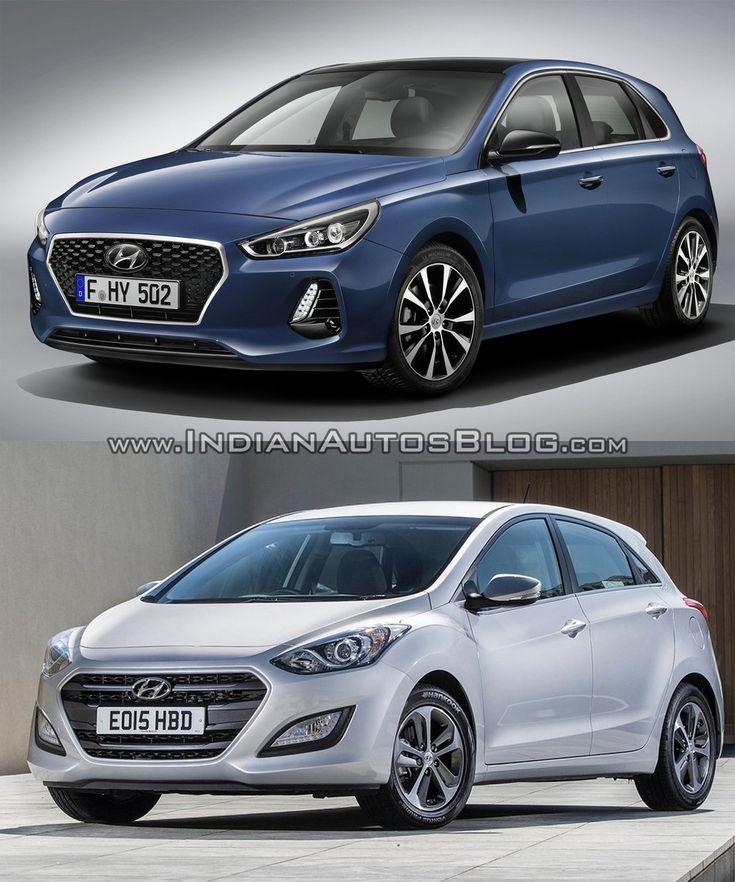 2017 Hyundai i30 vs. 2015 Hyundai i30 - In Images