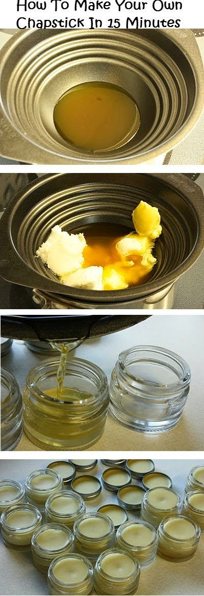 How To Make Your Own Chapstick In 15 Minutes Recipe | Easy Homesteading