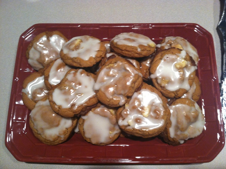 Glazed apple cookies (most amazing cookies ever!!)