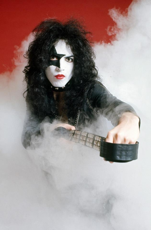 Paul Stanley (1974 Photo session for Kiss tour...The band just released their self-titled debut album and were three shows into their KISS tour before taking these photos in New York City. At this point, the group had been together almost a full year to the day.)@dmvc