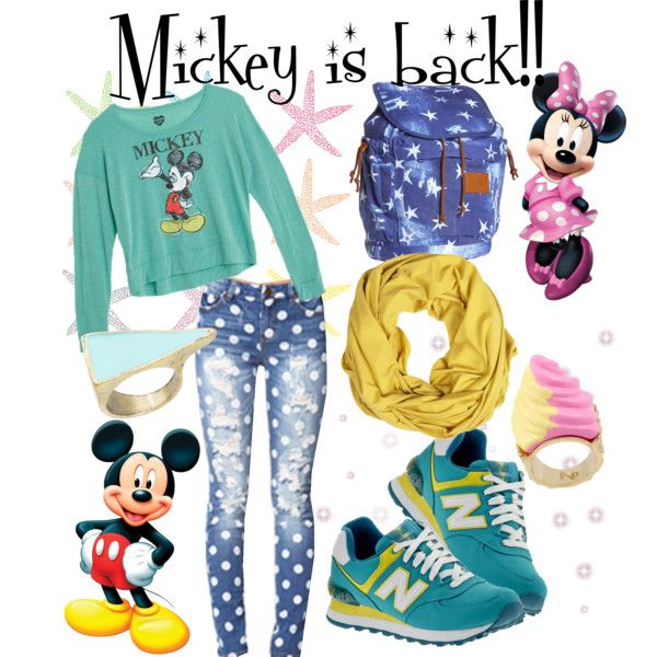 """Mickey is back"" by ekamulya on Polyvore"