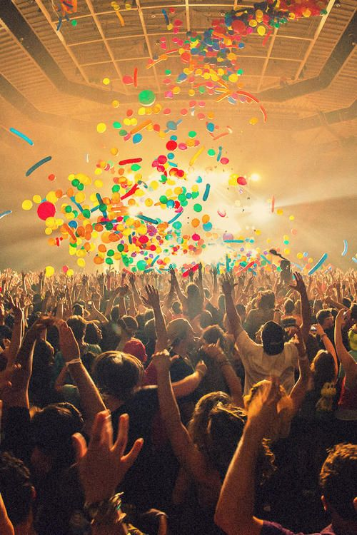 I want to go to an EDM concert/rave one day just once to experience the fun.