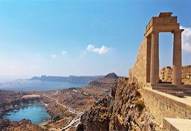 Akropolis, Rhodos, Griechenland, Insel