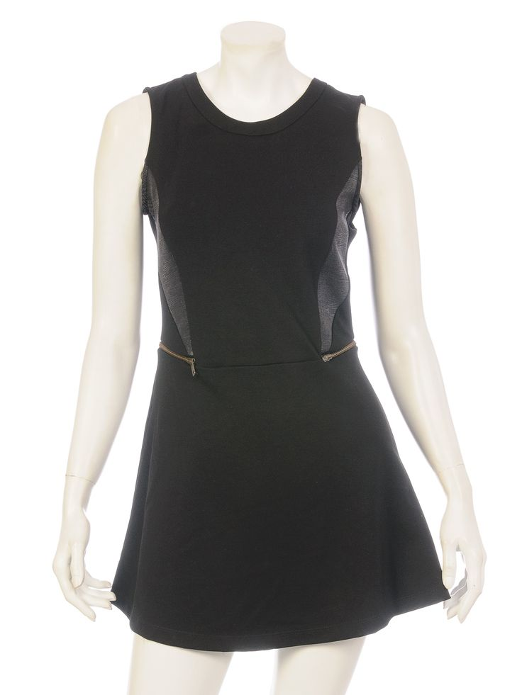Vestido corto negro kosiuko Argentina 1478