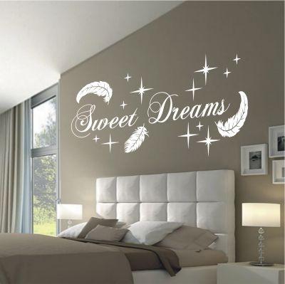 deko-shop-24.de-Wandtattoo-Sweet Dreams Federn