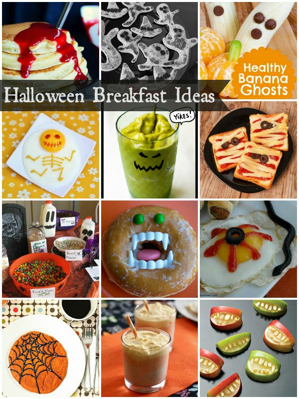 Halloween Breakfast Ideas for Kids   #halloween #breakfasts #kidbreakfasts