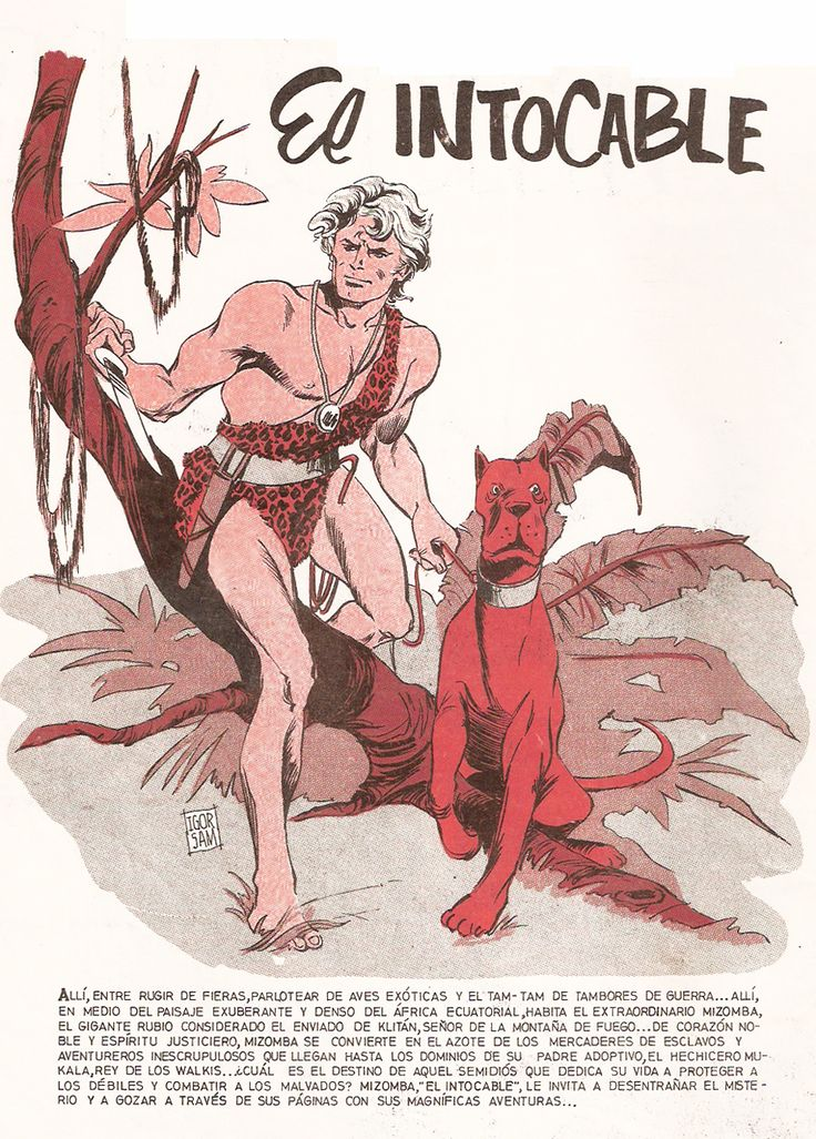 Mizomba El Intocable (Comic Chile)