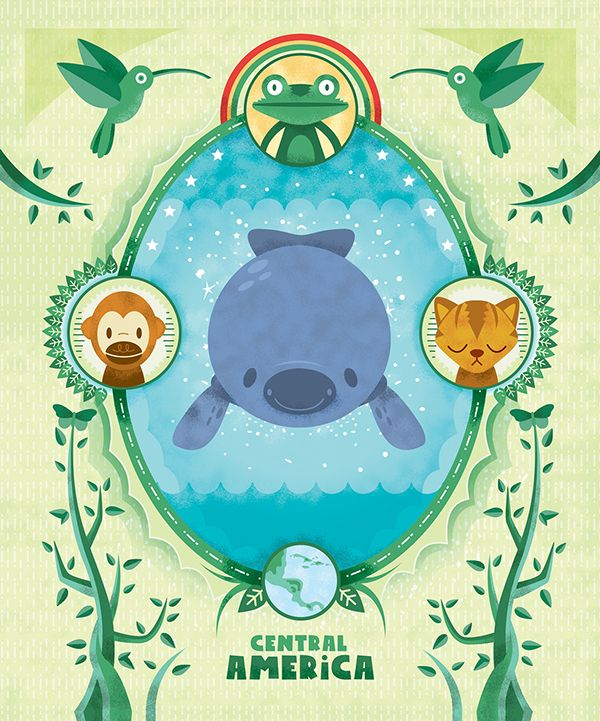 Earth Day - Ark Project book posters on Behance