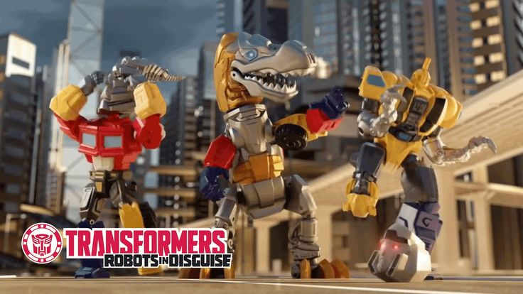 Check out the new Transformers Hero Mashers! Now you can create your own Transformers characters by mashing up parts of Autobots, Decepticons, AND Dinobots! ...