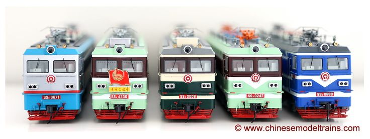 ChineseModelTrains.com - Encyclopedia SS3 Series