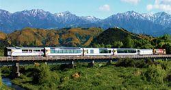 Christchurch Kaikoura Train Rail Day Excursion | Trans Tranz Coastal Pacific Train Trip Journey Tour | TranzCoastal Transcoastal Express