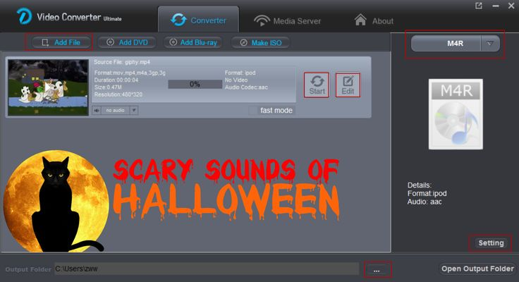 Halloween Ringtone Maker