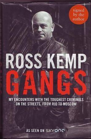 Kemp, Ross - Gangs (signed book)