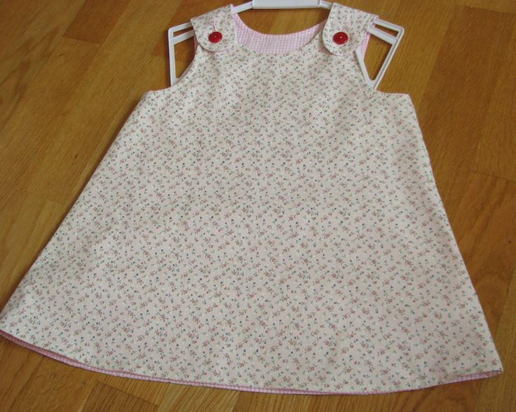 A reversible dress for a two year old girl. Found the pattern at http://www.tiedyedivapatterns.com/