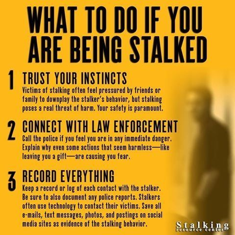 How Do You Know If You Are Being Stalked