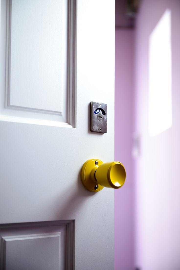 トイレ用の表示錠