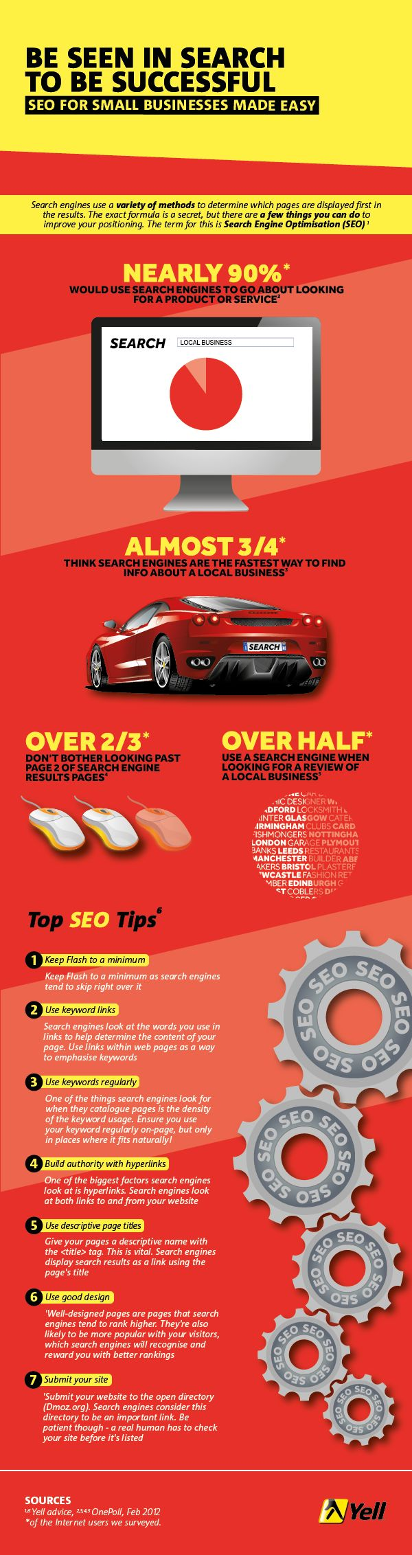 Be Seen In Search To be Successful SEO tip #infographic     We build all our websites with SEO features to make you rank high on Google www.completely-fitness.co.uk
