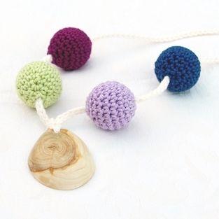 Horgooka HURRICANE creative mommy necklace, teething necklace, nursing necklace