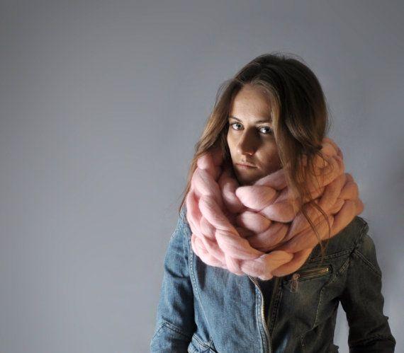 Super chunky chain scarf