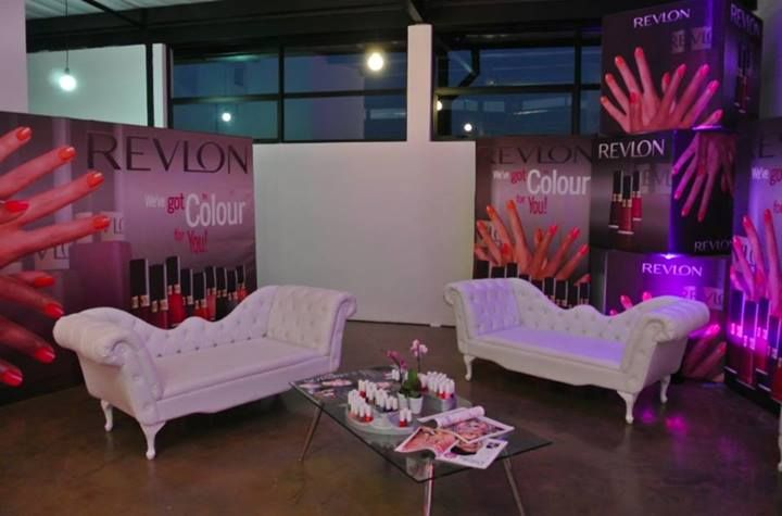 The @Revlon South Africa #COSMOpolished workshop with @Cosmopolitan SA