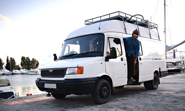 Alex Rayner: 'Vandog Traveller' Mike Hudson draws loyal following to travel site describing conversion of LDV Convoy van and year-long journeys from Romania to Portugal