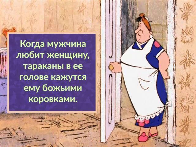 юмор с перчиком Быть бабой-трудная задача, держись графиней и не хнычь; чужой мужик - что пух цыплячий, а свой привычный - что кирпич!