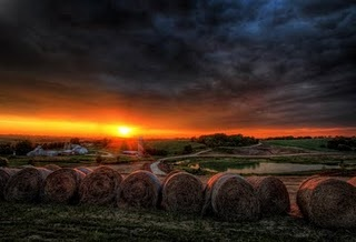 Wisconsin countryside: Wisconsin Countryside, Posts, Extra Chee, Joseph Eckert, Joseph Gordon-Levitt, Chee Wisconsin, Hay Bale, Wisconsin Wonder, Photo
