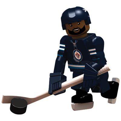 Winnipeg Jets Dustin Byfuglien Player Minifigure