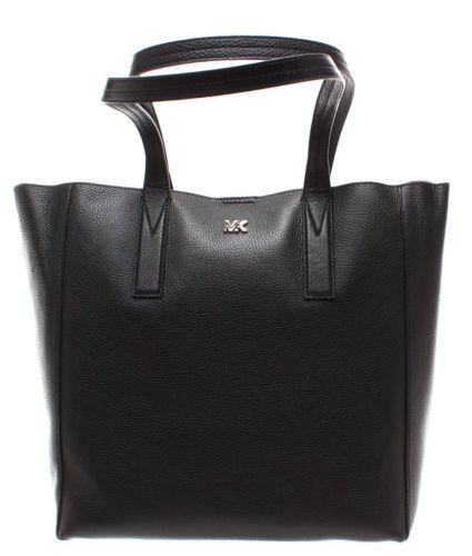 4188dff1e880ac MICHAEL KORS Women's Hand Shoulder Bag 30T8TX5T3L Black Junie Leather Black  New #leatherhandbag #womensbag #leatherbag #shoulderbag