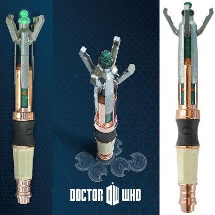 Télécommande Universelle Tournevis Sonique 12ème Dr Who sur Cadeaux et Anniversaire
