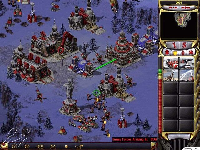 Command & Conquer: Red Alert 2 Game Preview