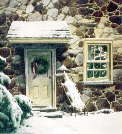 Christmas Flyer by Richard Bollinger  (1995)