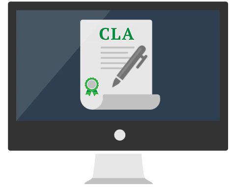 CLA assistant X GitHub on Behance