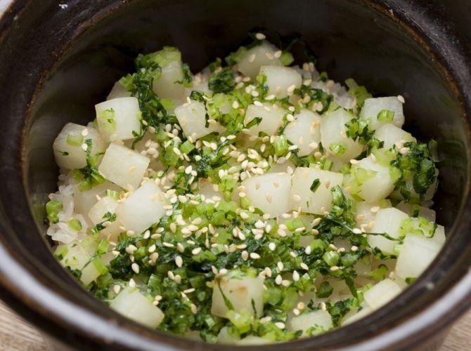 大根めし - 秋山 能久シェフのレシピです。 | プロから学ぶ簡単家庭料理 シェフごはん