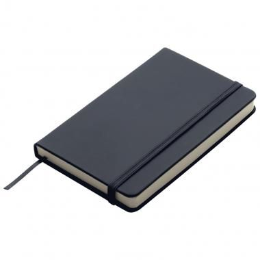 A6 Promotional soft skin notebook - Black :: Promotional Notebooks :: Promo-Brand :: Promotional Products l Promotional Items l Corporate Branding l Branded Merchandise