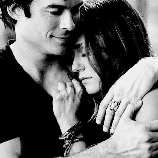 couple, damon and elena, delena, ian somerhalder, love couple